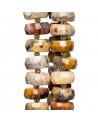 Orecchini Di Argento 925, Pasta Di Corallo Arancio Con Strass E Resina Arancio