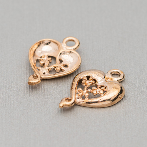 Orecchini A Monachella Di Argento 925 Con Perle Di Fiume Barocche Piatto