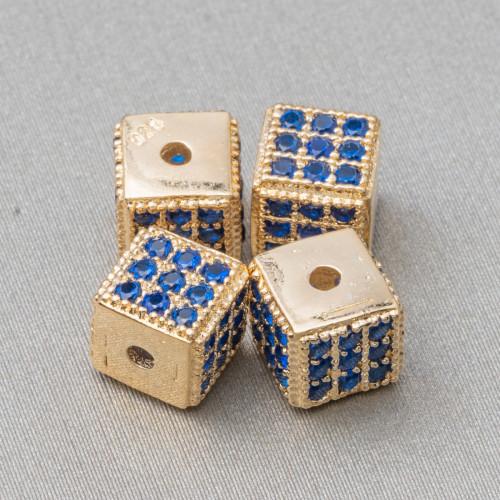 Orecchini A Perno Di Argento 925 E Giada Burma Con Perle Di Fiume E Marcasite Strass