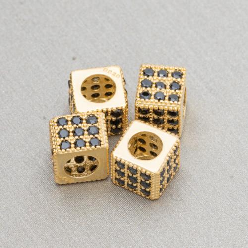 Orecchini A Monachella Di Argento 925 Con Perle Di Fiume Barocche A Goccia Rodiata Bianca