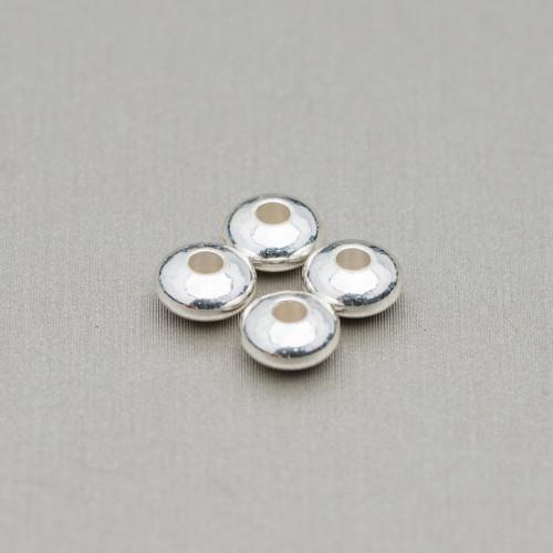 Giada (New Jade) Tondo Piatto Sfaccettato 20mm