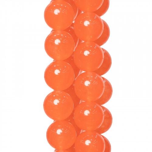 Avventurina Multicolor Satinato (Matte) Tondo Liscio 06mm