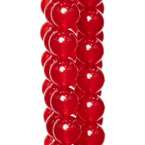 Calcite Giallo Satinato (Matte) Tondo Liscio 06mm