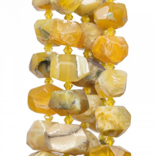 Cristalli Rondelle Sfaccettata 7,5x5mm Rose'
