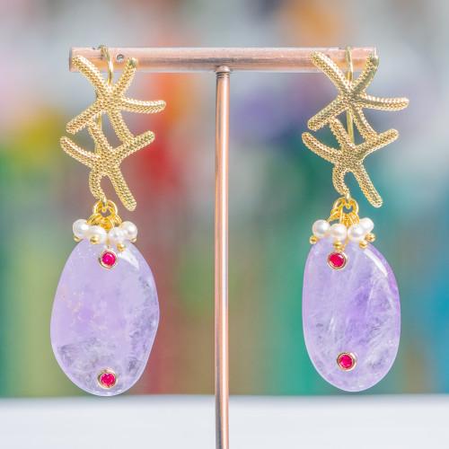 Opale Rosa Tondo Liscio 06mm