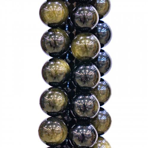 Base Per Orecchini Di Argento 925 Con Zirconi Perno Barretta 1,5x21mm 8 Paia Dorato