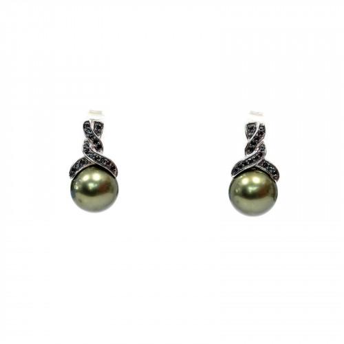 Bracciale Di Argento 925 Argentato E Ambra Lunghezza 19cm - 1pz - Cod. 25321