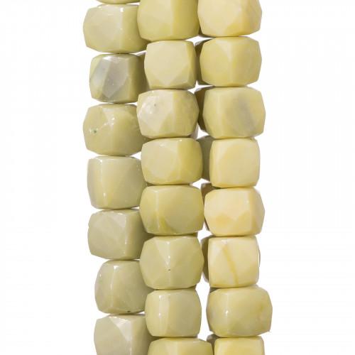 Perle di Maiorca Marrone Caramella 15x12mm