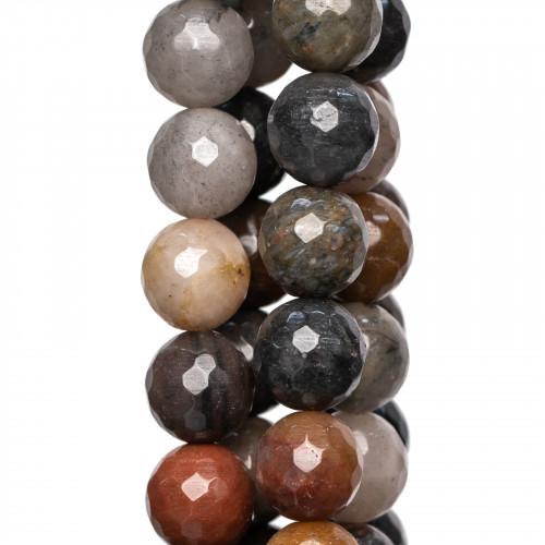 Orecchini A Monachella Di Argento 925 Con Zirconi E Cammei Incisi A Mano Con Perle Di Fiume E Gocce A Corallo Bamboo
