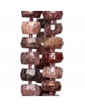 Orecchini A Monachella Chiusa Di Argento 925 Con Zirconi Incastonati E Pasta Di Corallo 12mm