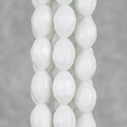 Orecchini A Monachella Di Argento 925 Rodiato E Perle Di Maiorca Goccia Giallo 16x21mm