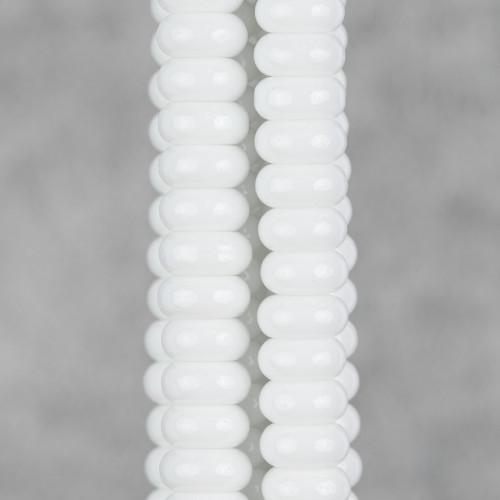 Orecchini A Monachella Di Bronzo Con Componente Di Zama Forato E Perle Di Fiume