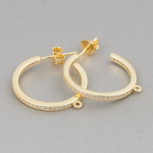 Quarzo Rutilato Gold Sfaccettata Diamond Cut 3,7mm