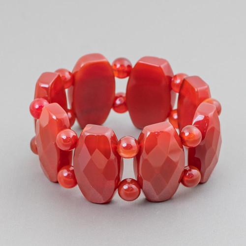 Perle Di Fiume Barocche Bordate Oro 8pz