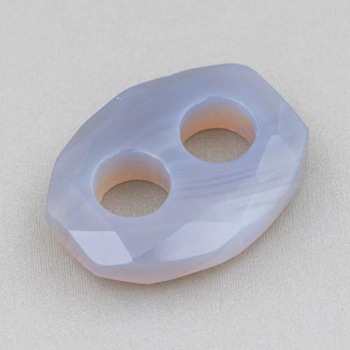 Bracciale Di Perle Di Fiume 11-12mm Grigio