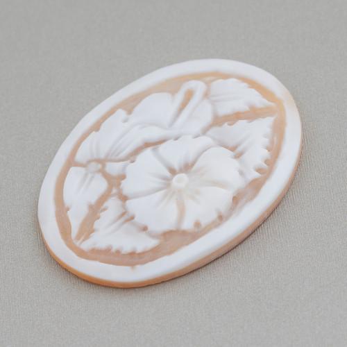 Orecchini A Monachella Di Argento 925 Con Perle Di FIume E Scarabei Con Zirconi Incastonati Oro Rosa