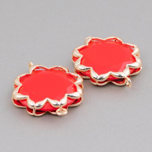 Orecchini A Monachella Di Argento 925 Con Perle Di Fiume E Pietre Dure - Oro Rosa + Onice