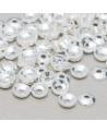 Perle di Maiorca Bianca Tondo 08mm