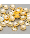 Perle di Maiorca Grigio Argentato Tondo 16mm