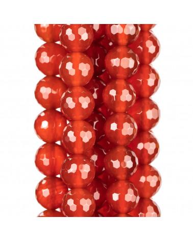 Perle di Maiorca Rosso Gocce 10x30mm