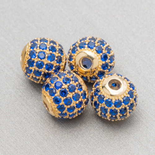 Pietra Mora Intrecciata Semisfera Di Perle Di Fiume 17mm 11pz