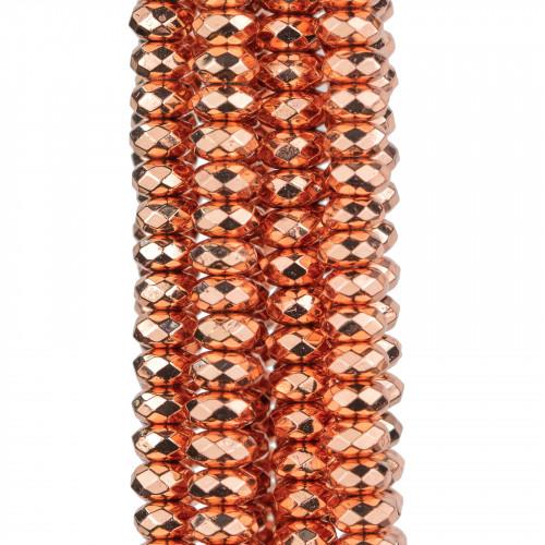 Base Per Orecchini Di Argento 925 Con Zirconi E Perle Di Fiume Perno Ciambella 13,5mm 3 Paia Dorato
