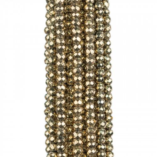 Base Per Orecchini Di Argento 925 Con Zirconi E Perle Di Fiume Perno Margherita 16mm 3 Paia Dorato