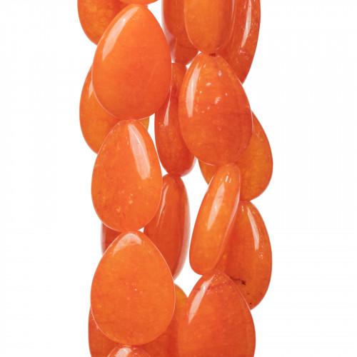 Componente Di Ottone A Mango Con Occhi Di Gatto Sfaccettato E Zirconi 24x29mm Con 2 Anellini 6pz Rodiato