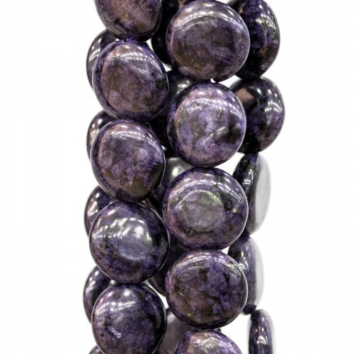 Perline a Filo Di Marcasite Strass Perle Di Maiorca Gocce 13x18mm 9pz Nero Con Bordo Oro