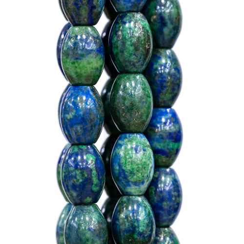 Perline a Filo Di Marcasite Strass Perle Di Maiorca Gocce Piatte Con Cappuccio 21x31mm 8pz Nero