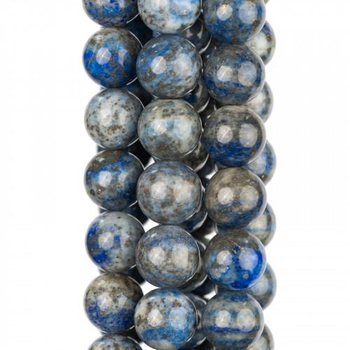 Perle di Fiume Bottoni Cabochon1 Foro 13,0-13,5mm 12 Paia Bianco