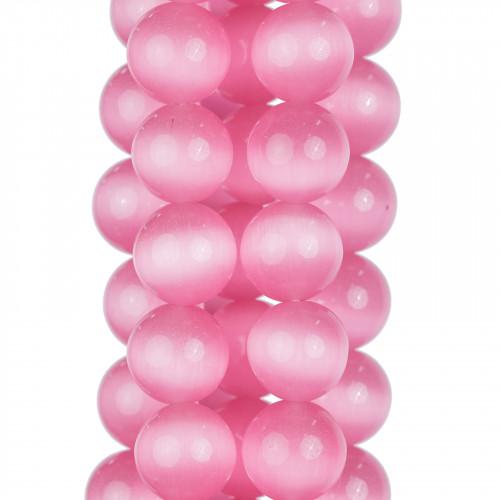 Perle di Maiorca Grigio Argentato Tondo Liscio 08mm