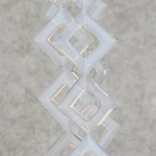 Perle Di Fiume Barocche Tonde 9-12mm Grigio Silver