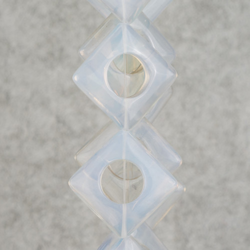 Perle Di Fiume Barocche Tonde 9-12mm Grigio Thaiti