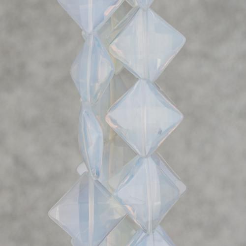 Perle Di Fiume Barocche Tonde A Gradazione 10-16mm Giallo