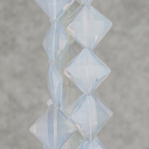 Perle Di Fiume Mabe 22-28x10-13mm Bianco