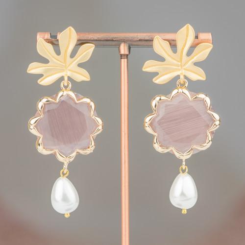 Perle Di Maiorca Bianca Tondo Piatto Liscio Barocco 20mm