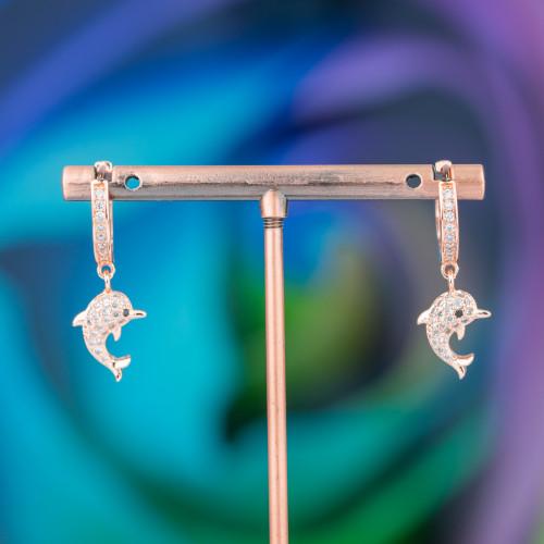 Anello Di Bronzo Con Occhio Di Gatto 32x36mm Misura Regolabile Rodiato Bianco