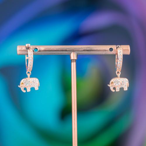 Componenti Di Perle Di Fiume Con Strass Marcasite 35x50mm