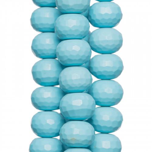 Giada Color Rodocrosite Sfaccettato 14mm