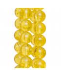 Cabochon Di Pietra Idrotermale Ovale 5,5x08mm Spessore 03mm 10pz Viola Ametista