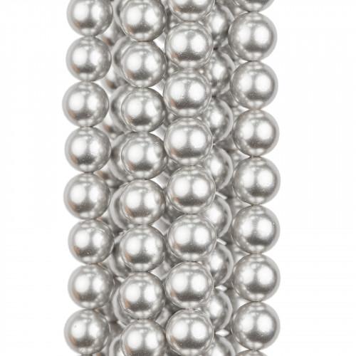 Collana Con Cristalli Girocollo A Cascata 44cm Allungabile fino a 51cm Celeste Turchese