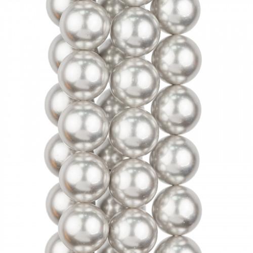 Collana Con Cristalli Girocollo A Cascata 44cm Allungabile fino a 51cm Oro Champagne