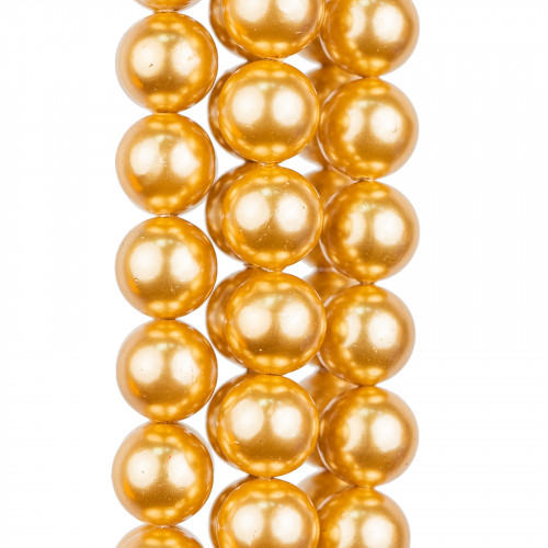 Orecchini A Monachella Di Argento 925 Con Catena 7cm Perle E Strass - Rosso