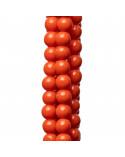 Cabochon Di Pietra Idrotermale Quadrato 10mm Spessore 05mm 4pz Giallo Citrino