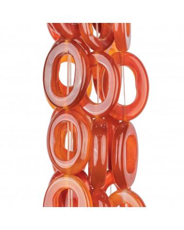 Cabochon Di Resina Druzi Ovale 10x15mm 50pz - Oro/Rose'