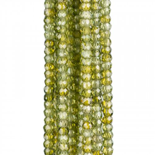 Giada Smeraldite Gocce Briolette Sfaccettate 8x12mm