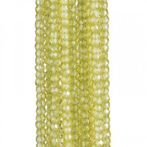 Giada Verde Crisoprasio Tondo Liscio 16mm