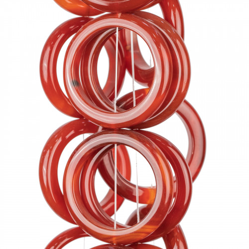 Cabochon Gocce Sfaccettato 20x30mm 1pz - Agata Indiana
