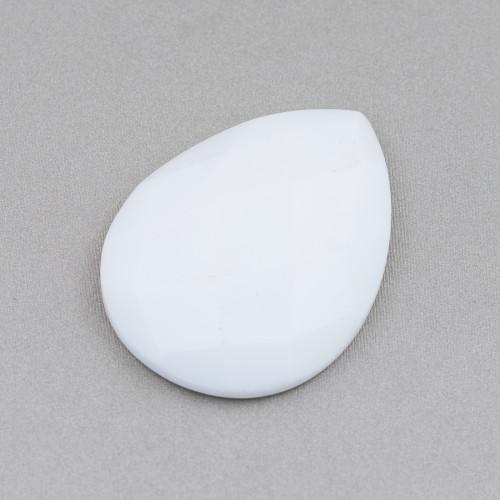 Aulite Bianco Tondo Liscio 04mm
